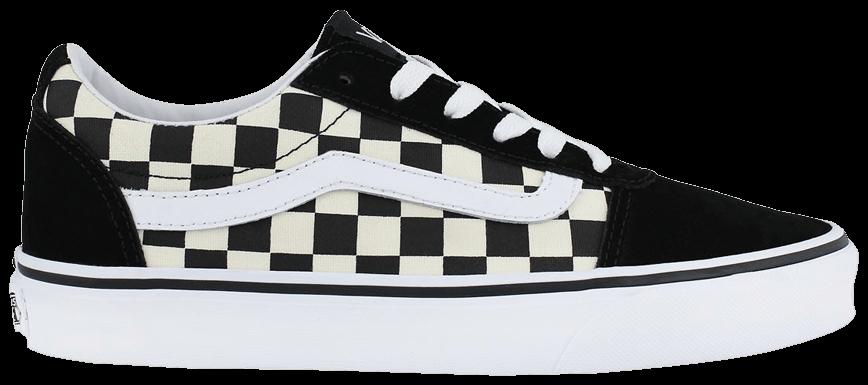 Tênis Vans Ward Checkerboard Black White