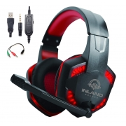 Headset Gamer  Fone de Ouvido Microfone HS884RD PC PS4 Xbox