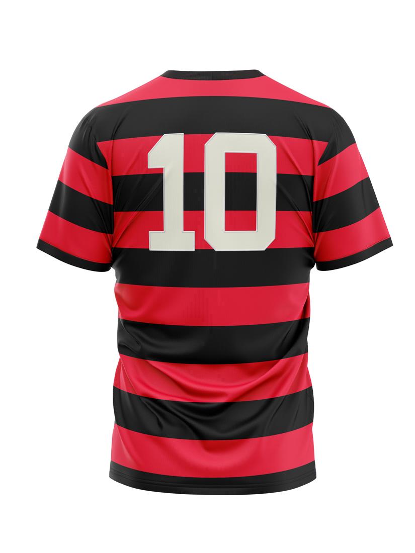 Camiseta Flamengo Flatri Zico