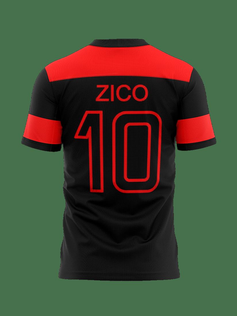 Camiseta Flamengo - NOVA ZICO RETRO