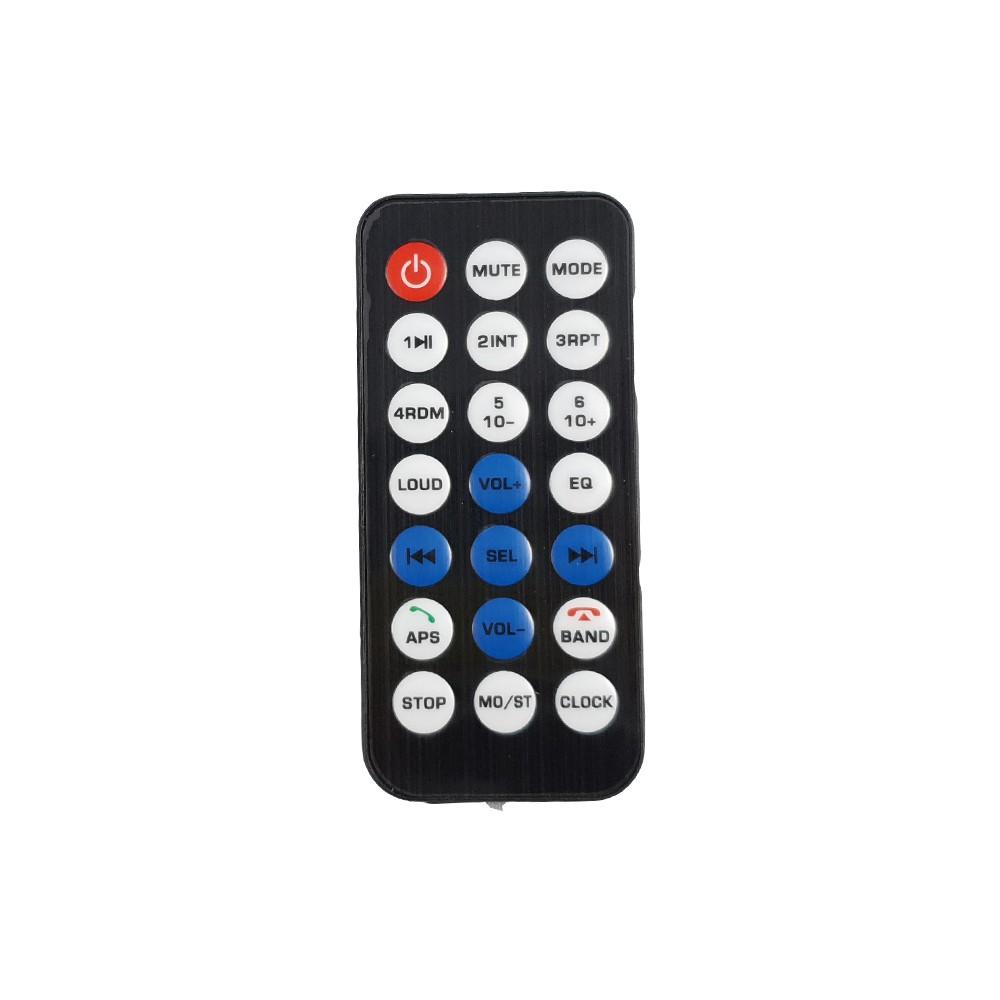 Central Multimidia MP5 7010 2 din Bluetooth SD USB Auxiliar Espelhamento