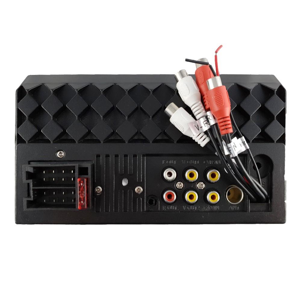 Central Multimidia MP5 N5 2 DIN Bluetooth Espelhamento USB SD Auxiliar FM