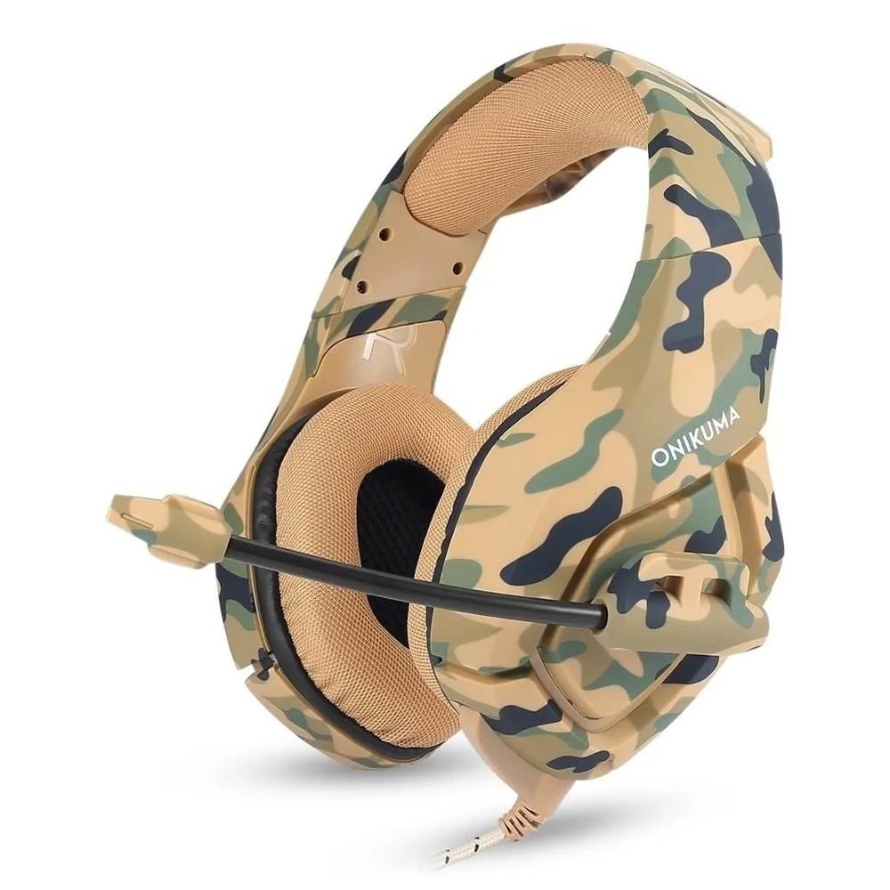 Fone de ouvido Headset Gamer Microfone Ps4/X-one Celular PC Camuflado