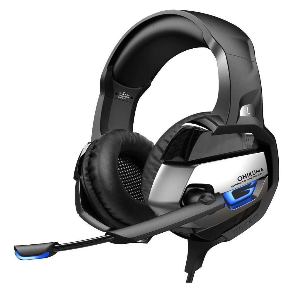 Fone de ouvido Headset Gamer Microfone Ps4/X-one Celular PC K5