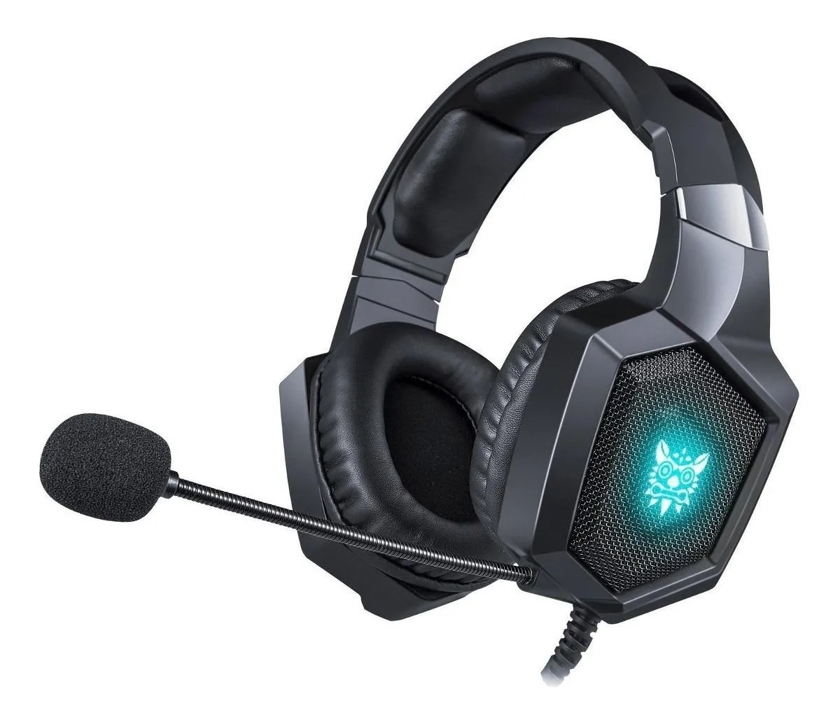 Fone de ouvido Headset Gamer Onikuma K8 RGB Microfone Ps4/X-one Celular