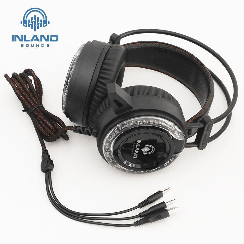 Fone de Ouvido INLAND Gamer HeadSet A5 PS4 XBOX PC