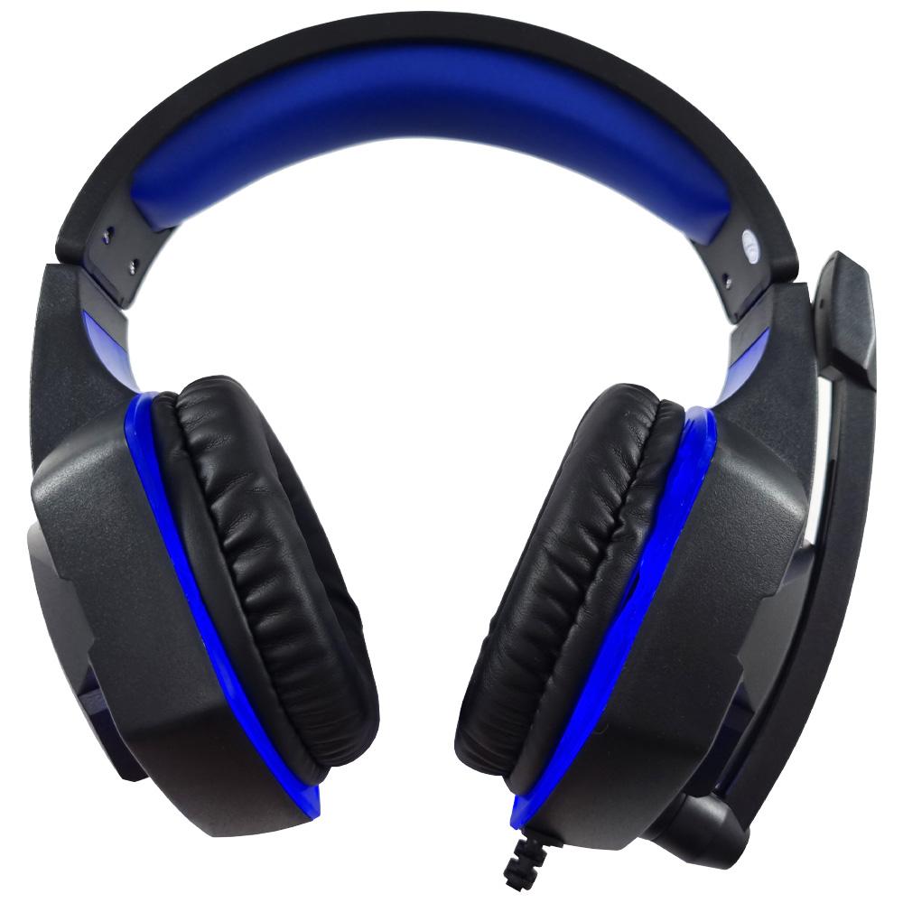 Headset Gamer HS884BL Inland Sounds Fone de Ouvido Microfone