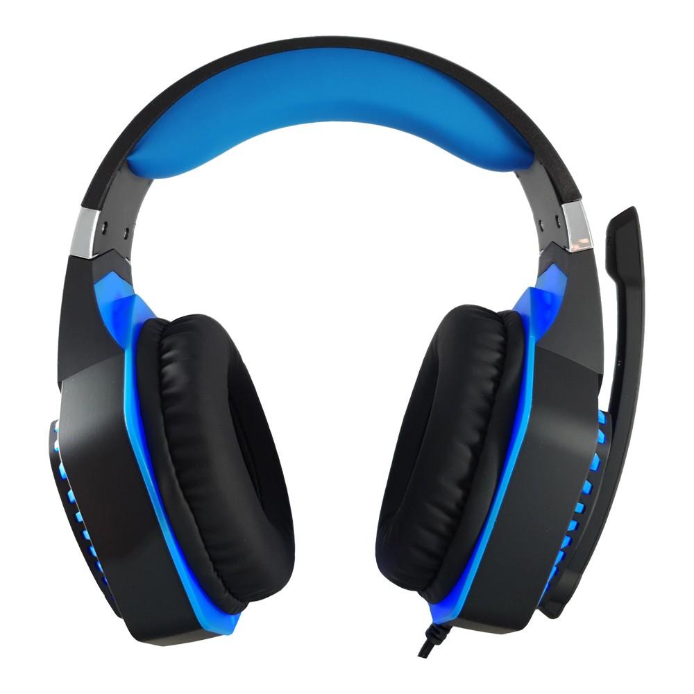Kit Gamer com Headset G3000 Azul, Teclado e Mouse Inland
