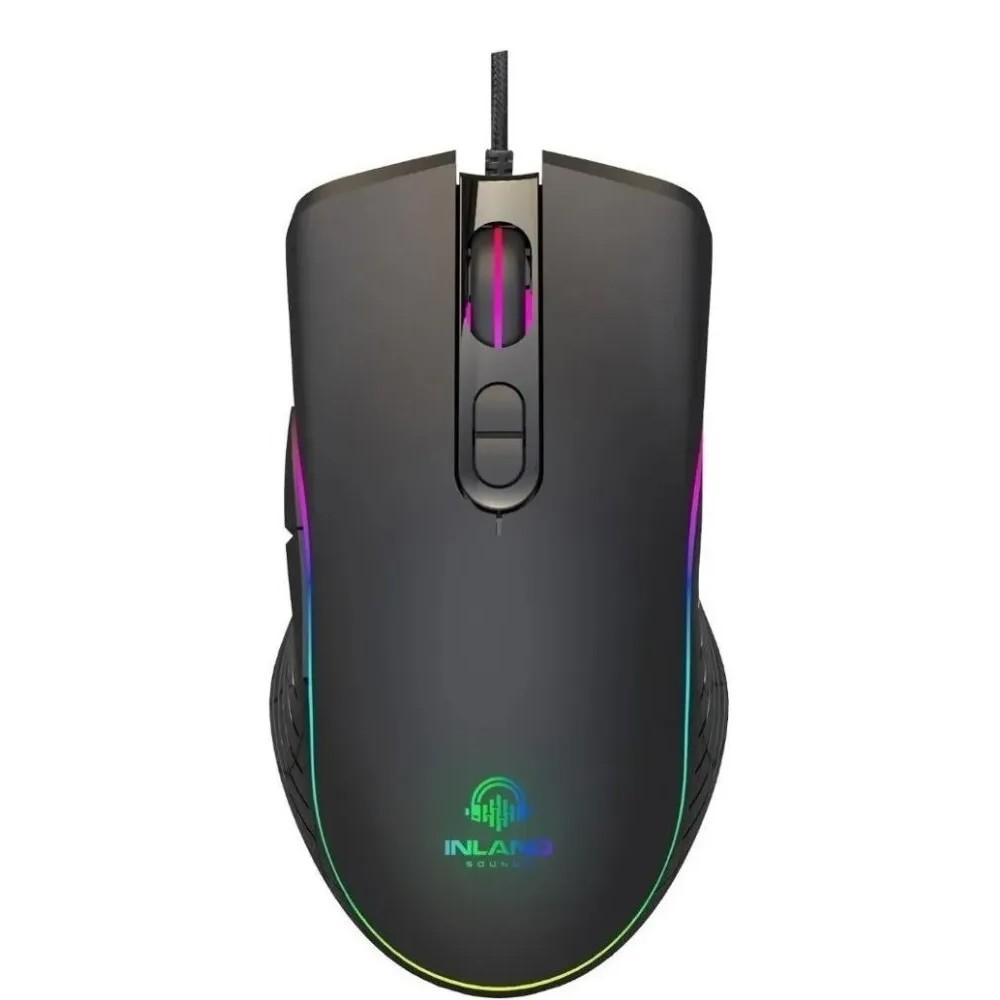 Mouse INLAND Usb Jogos Gamer 6400 DPI SC103