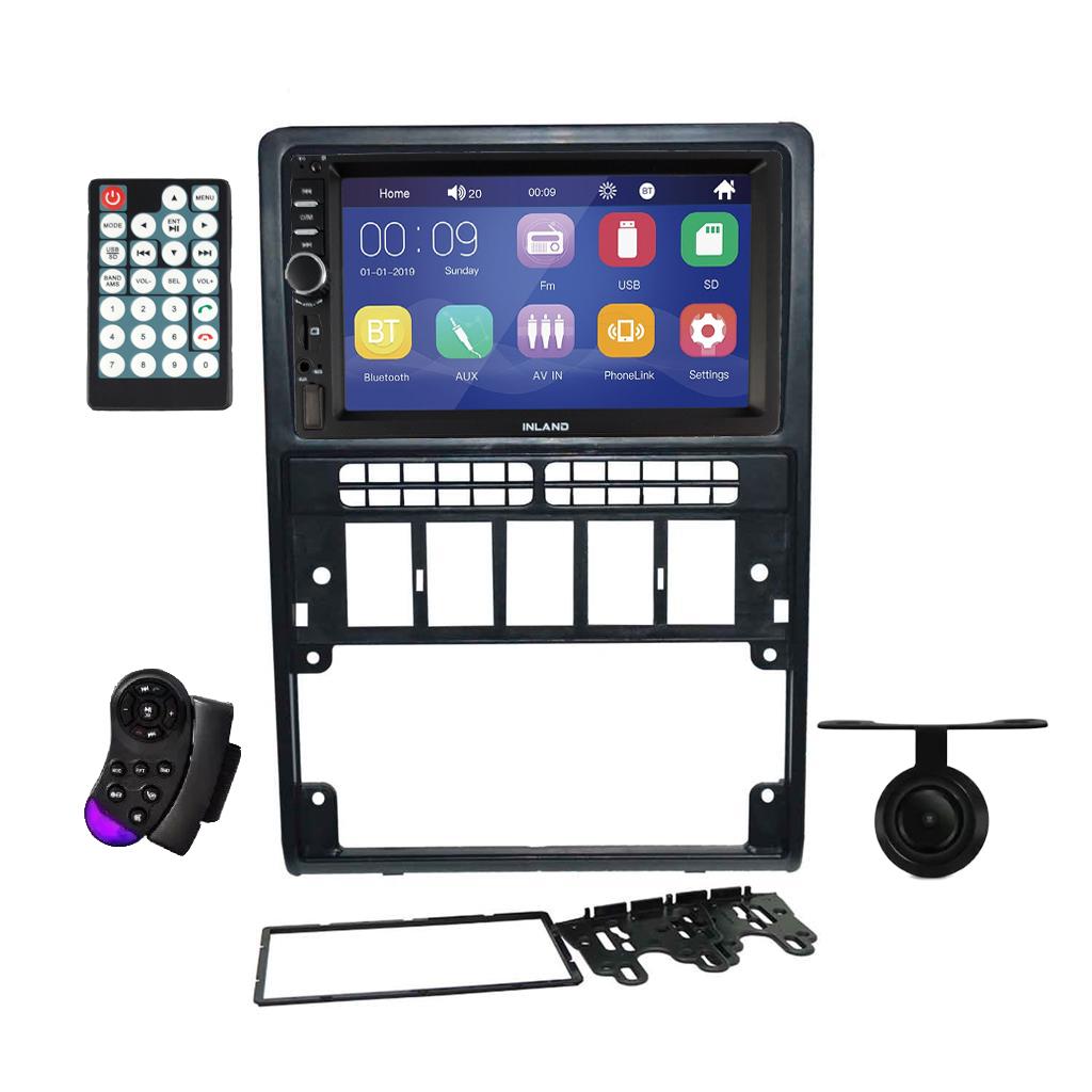Multimídia Mp5 2 Din Espelhamento Bluetooth 7 Pol Gol G2