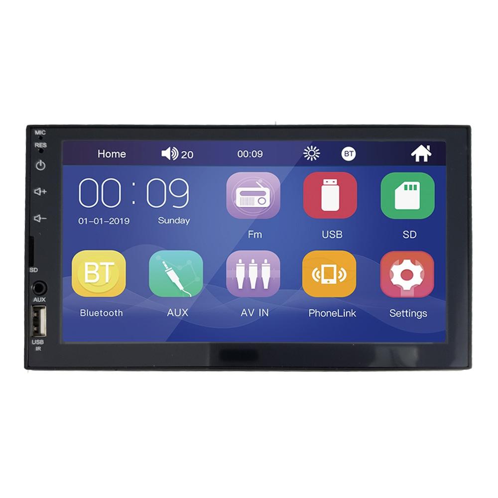 Multimídia Mp5 Espelhamento Android Ios 7 Pol 2 Din Gol G2