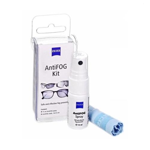 Kit Zeiss AntiFog Flanela Spray antiembaçante Para Óculos