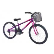 Bike aro 24 Stone Teen Feminina 18V - Stone Bike