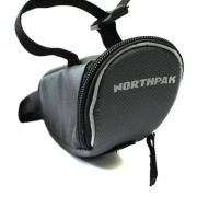 Bolsa de Selim Bike Tool Mini Northpak BK535 - Chumbo