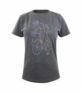Camiseta Casual Fem Marcio May Neon Biker