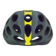 Capacete Ciclismo Catlike Chupito Faixa Amarela