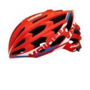 Capacete Ciclismo Polisport Veloster Vermelho