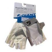 Luva Giant Road Pro Lite Glove Branca/cinza