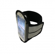 Porta Celular Kombat c/ Cinta Refletiva 3M