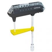 Torquímetro Topeak - Combotorq Wrench & Bit Set - 3~12nm