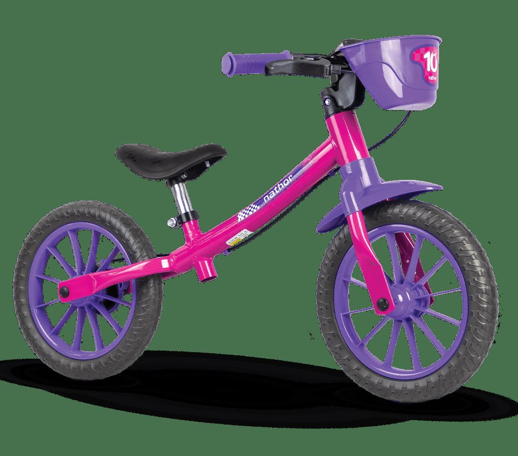Balance Bike Nathor Rosa