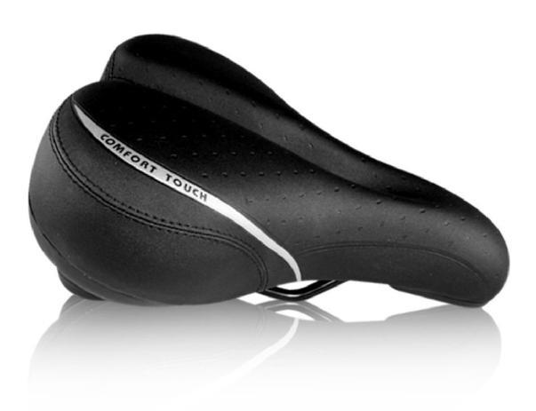 Banco Selim Bike Ddk-3301 Comfort Touch 260x160mm Vazado MTB