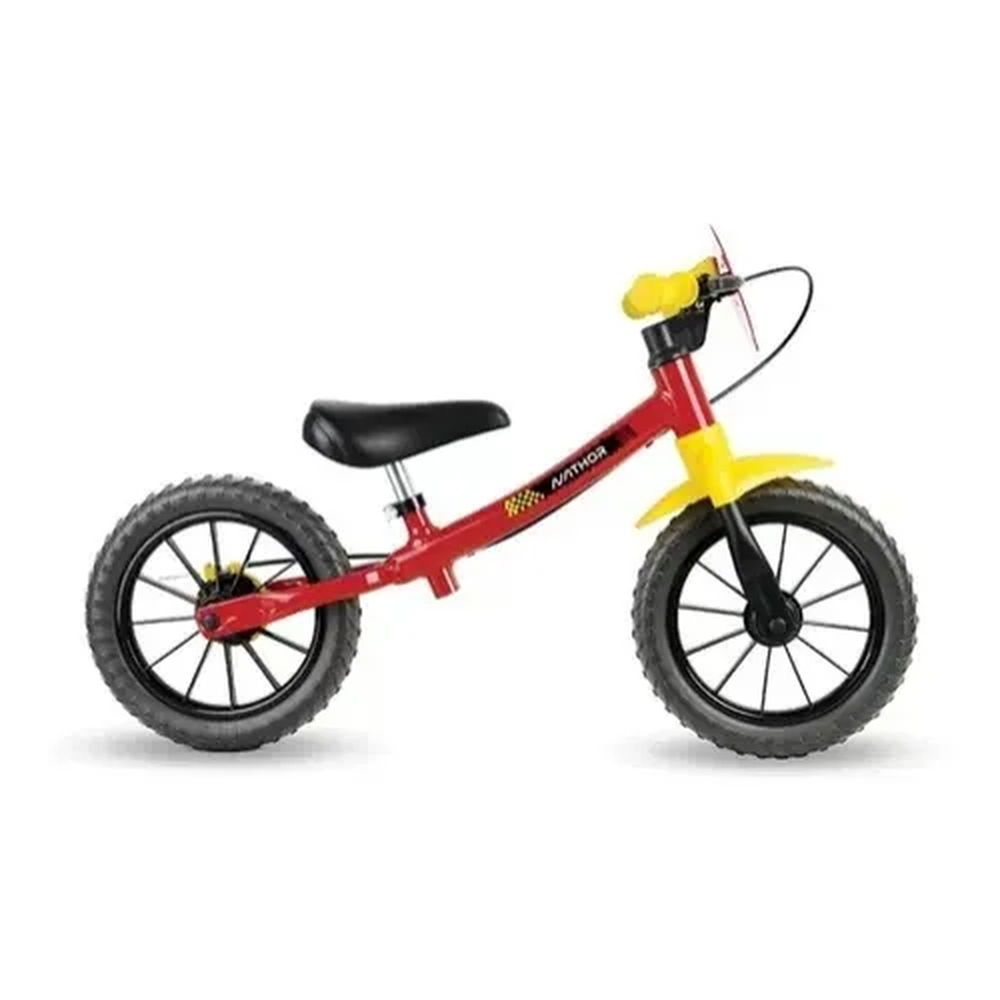 Bicicleta Aro 12 Sem Pedal Equilíbrio Balance Fast - Nathor