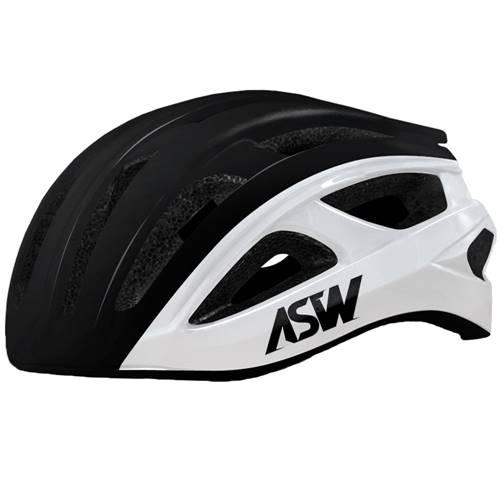 Capacete Asw Bike Impulse Ciclismo Mtb Preto/Branco