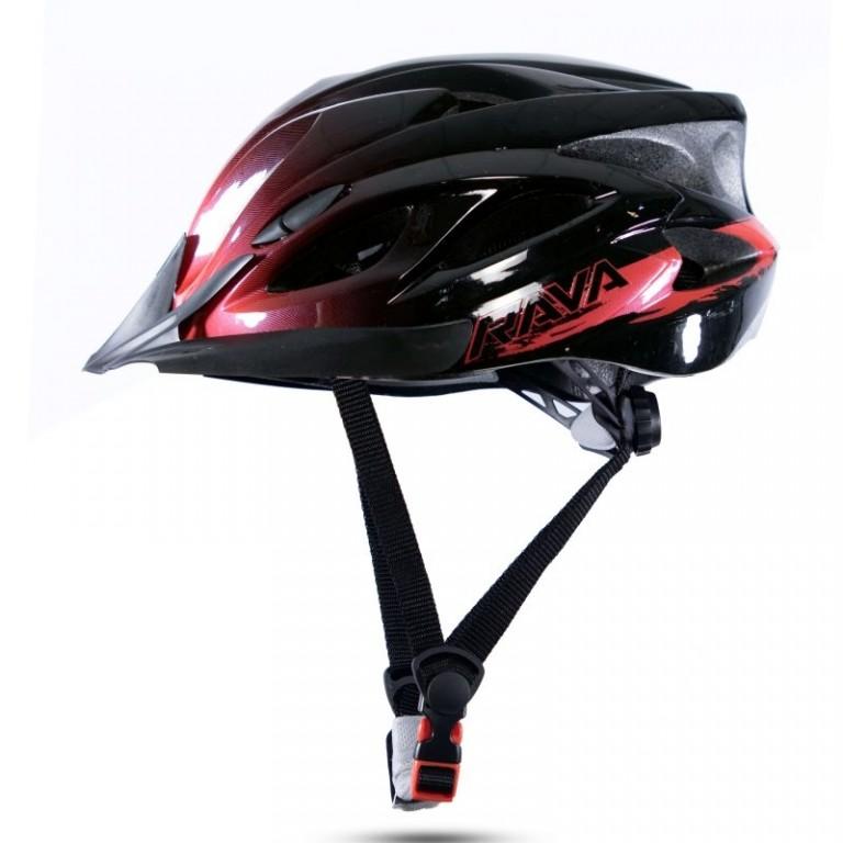 Capacete de ciclismo Rava Space 3 MTB Vermelho