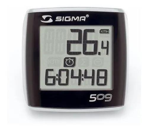 Ciclocomputador Sigma Bc 509