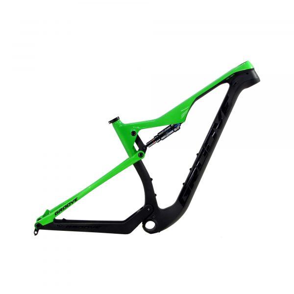 Quadro Groove Slap Carbon Verde / Preto Aro 29