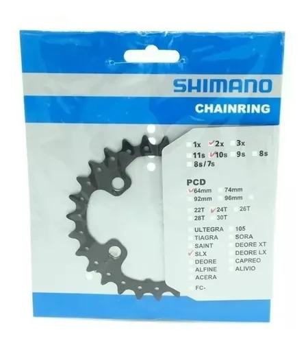 Engrenagem 24D Shimano FC-M660/675/615-10 SLX