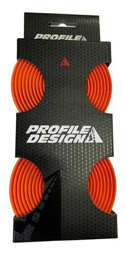 Fita De Guidão Profile Design Tacor Laranja
