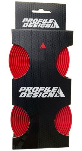 Fita De Guidão Profile Design Tacor Vermelha