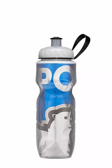 Garrafa Térmica Polar Bottle Big Bear Blue 710 ml e 590 ml  Caramanhola