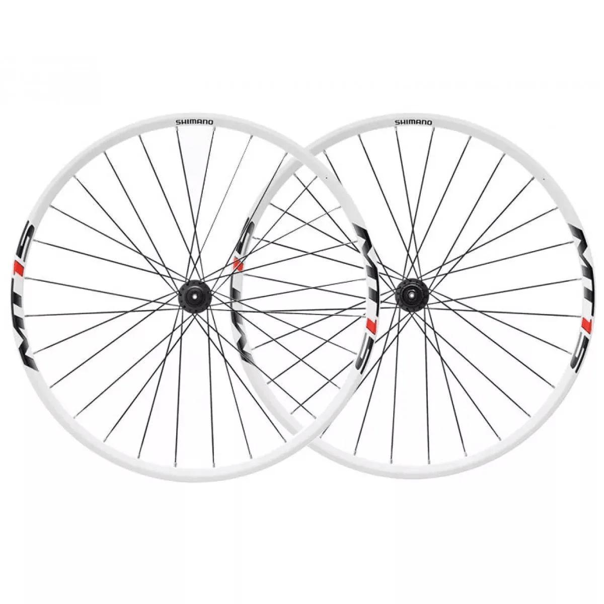 """Roda Shimano - MT15 26"""" - Branca Par"""