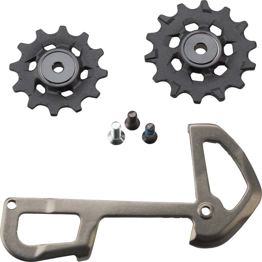 SRAM X01 Eagle Pulleys and Gray Inner Cage