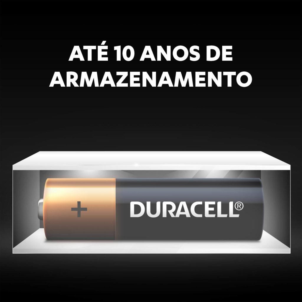 16 Pilhas Alcalina Duracell AA Pequena 1,5v MN1500B16