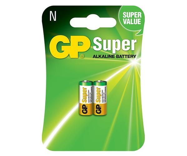 2 Pilhas Alcalina GP Batteries Super N 1,5v LR1