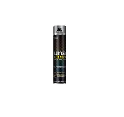 UNA BLACK SINTHETIC WAX - CERA AEROSOL - 400ML