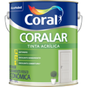 TINTA ACRILICA BRANCO NEVE PAREDE INTERNA CORAL GALÃO 3,6LTS