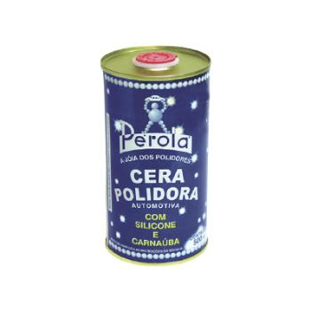 Cera Silicone E Carnauba Perola Para Polimento 500ml