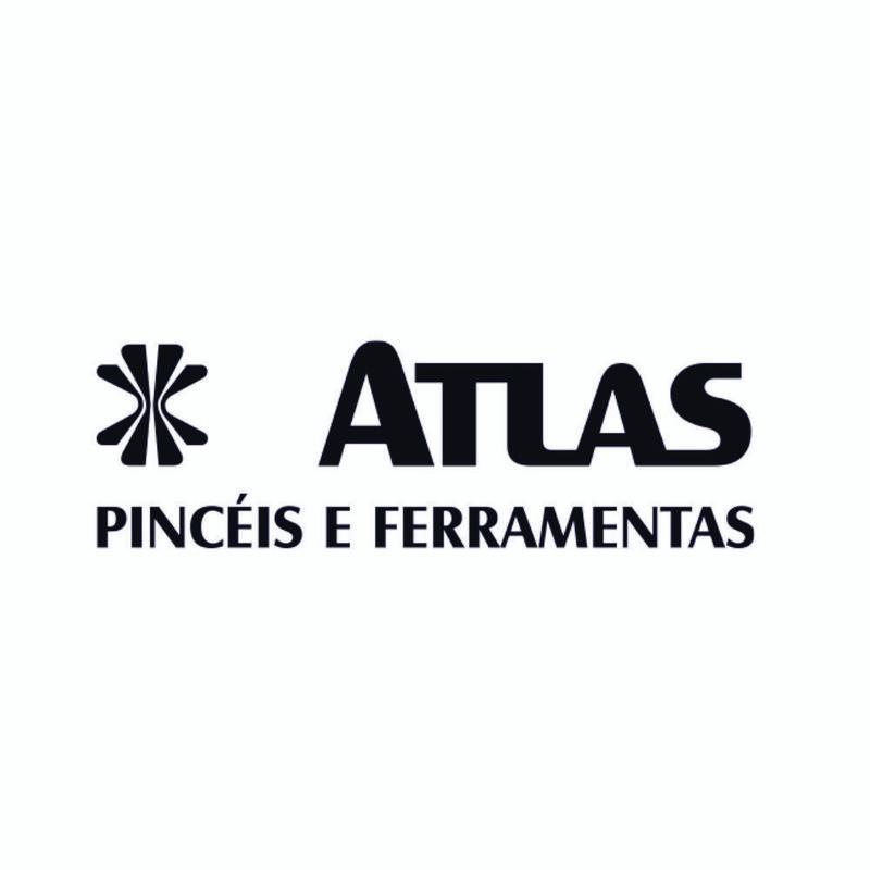 Desempenadeira Aço Liso Cabo Aberto 25X12 Cm Atlas
