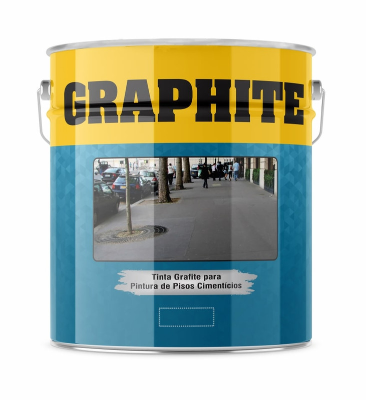 Graphite Premium Cinza Escuro Lata 18 Litros