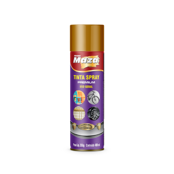 Tinta Spray Metálico Decorativo 400Ml Todas as Cores