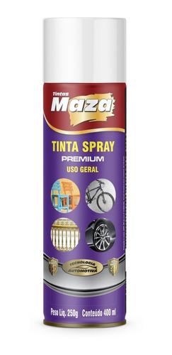 Tinta Spray Multiuso Brilhante 400Ml Todas As Cores