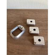 Kit Com 3 Bumpers + 1 Funil Em Alumínio - Imbel - Anodizado