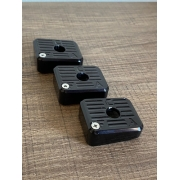 Kit Com 3 Bumpers Imbel GC - Aluminio Anodizado Black
