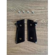 Par Talas Taurus PT Aluminio Anodizado Black C/ Paraf Inox