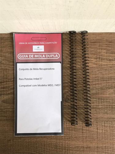 "Conjunto Com 2 Molas Recuperadora Para Pistolas Imbel 5"""